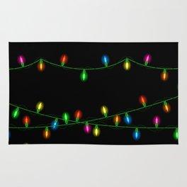 Christmas lights collection Rug