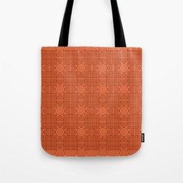 Op Art 18 - Coral Tote Bag