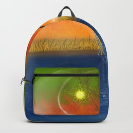 Feng Shui five elements Backpack