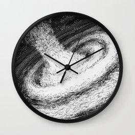 Galaxy Particles Infinite Wall Clock