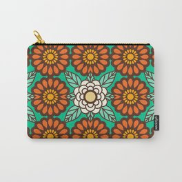 Betty Flowers Carry-All Pouch