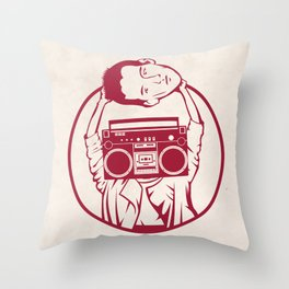 Don't Say Anything Throw Pillow