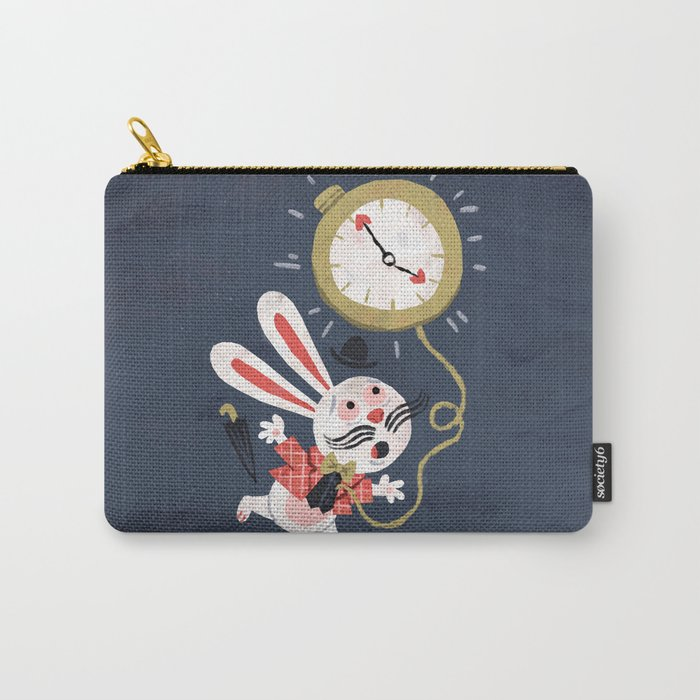 White Rabbit - Alice in Wonderland Carry-All Pouch
