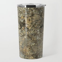 "Pyrite ""Fool's Gold"" Travel Mug"