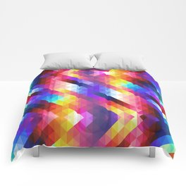 HIPSTER GEOMETRY Comforters