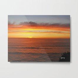 Surreal Sunrise Metal Print