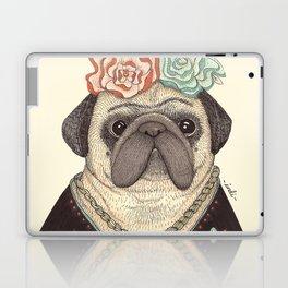 Frida Pug Kahlo Laptop & iPad Skin