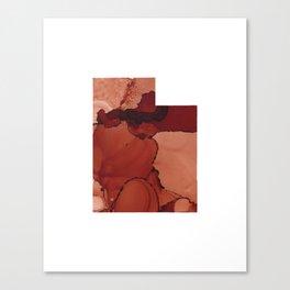 Red Rocks Inspired Utah Canvas Print