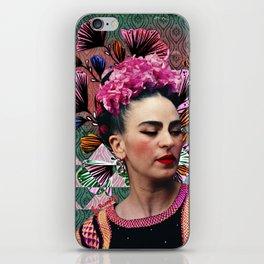Flowery Frida iPhone Skin