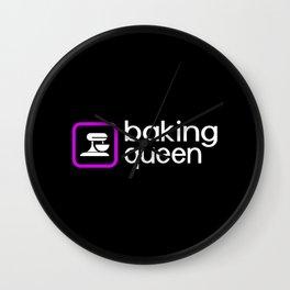Baking Queen (Purple) Wall Clock