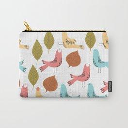 Birds Quater Carry-All Pouch
