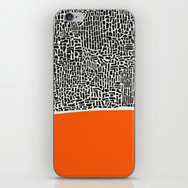 City Sunset Abstract iPhone Skin