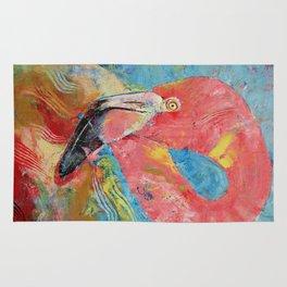 Pink Flamingo Rug