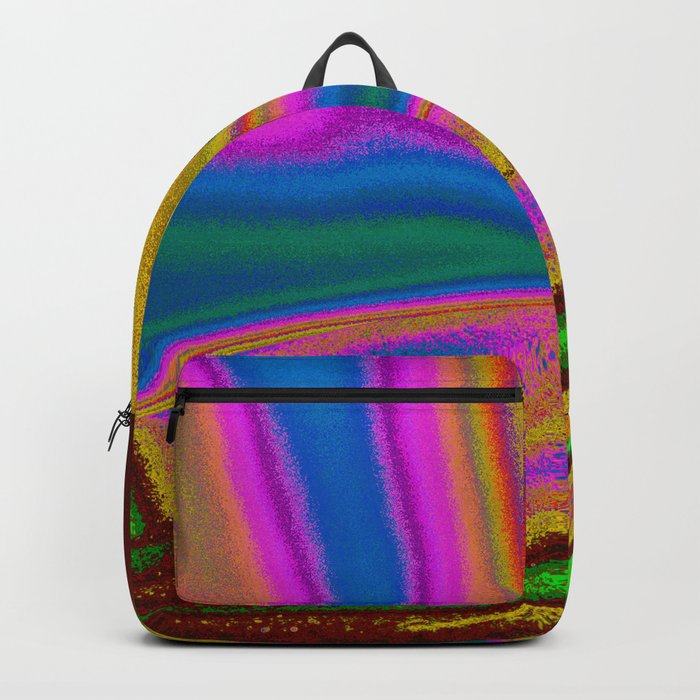 Colorful Curves Backpack