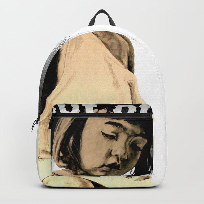 KIDS prefer crayons - black version Backpack