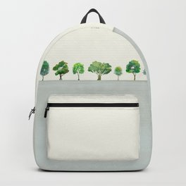 A Row Of Trees Backpack