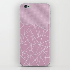 Ab Lines 45 Pink iPhone & iPod Skin