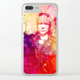 GNR color full Clear iPhone Case