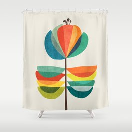 Whimsical Bloom Shower Curtain