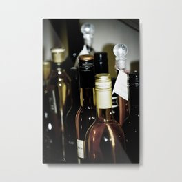 Wineography Metal Print