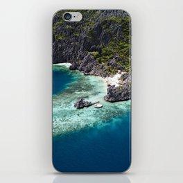 Island hopping around the Philippine Islands iPhone Skin