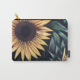 Sunflower Life Carry-All Pouch