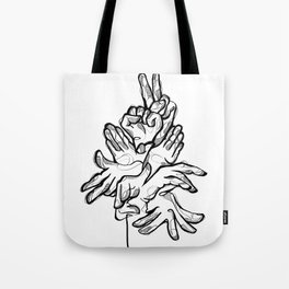 HandsTalk Tote Bag