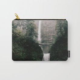 Multnomah Falls Waterfall in October - Landscape Photography Carry-All Pouch