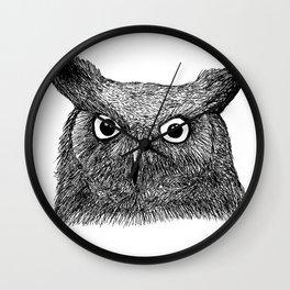 The Eyes of Wisdom Wall Clock