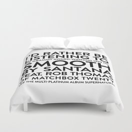 Smooth Duvet Cover