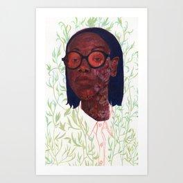 Bloom/background Art Print