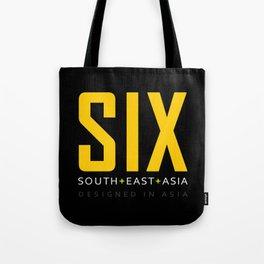 SIX SOUTH EAST ASIA Tote Bag