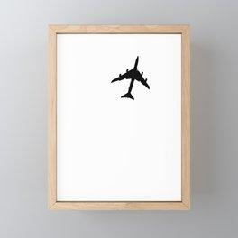 Fly with Me Framed Mini Art Print