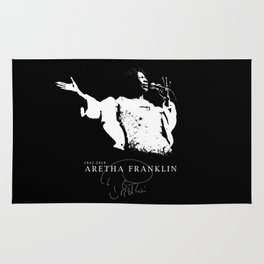 Aretha Franklin-Soul Music-Respect- Diva Rug