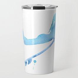 Duck Diving - Surf Art of Surfer Girl Travel Mug