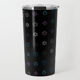 Dungeons and Dragons Aesthetic Dice Travel Mug