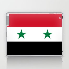 Syrian flag - may PEACE prevail Laptop & iPad Skin
