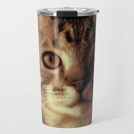 Kitten In The Window Travel Mug
