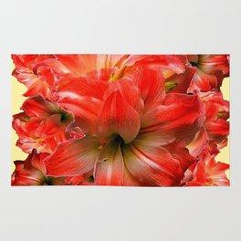 Amaryllis Floral abundance Rug