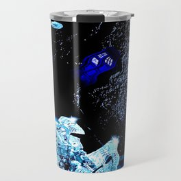 TARDIS BLUE Travel Mug