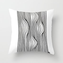 Bumps Throw Pillow