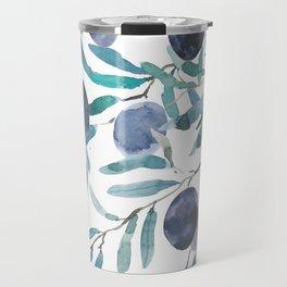 black olive watercolor 2018 Travel Mug