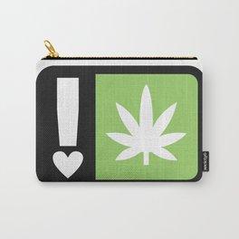 marijuana universal symbol of love Carry-All Pouch