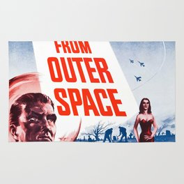 Vintage poster - Plan 9 from Outer Space Rug