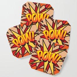 Comic Book POW! Coaster