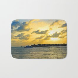 See you at Sunset! Bath Mat