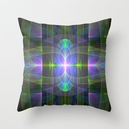 Alien Birth 1 Throw Pillow