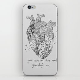 heart // the road iPhone Skin