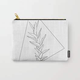 Botanical triangle Carry-All Pouch