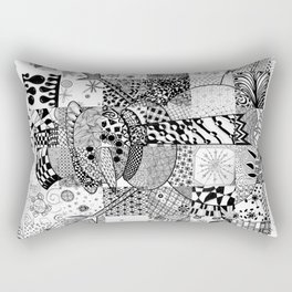 Snowman Rectangular Pillow